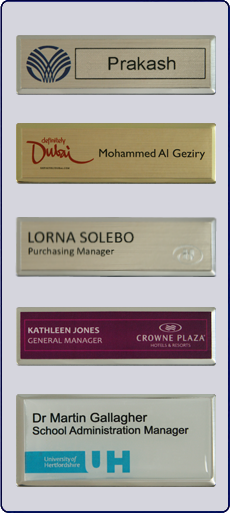 Personalised Staff Name Badges
