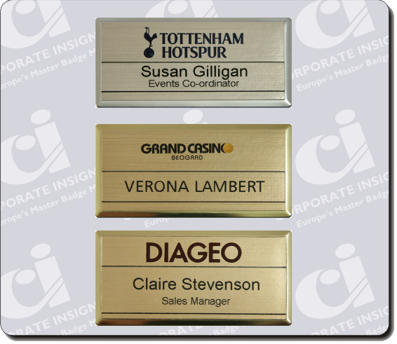 reusable staff name badges major