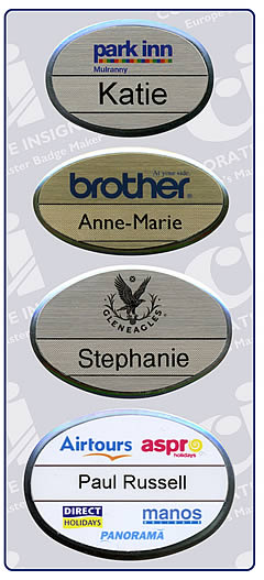 Corporate Insignia Staff Name Badges - Corporate Insignia Staff Name